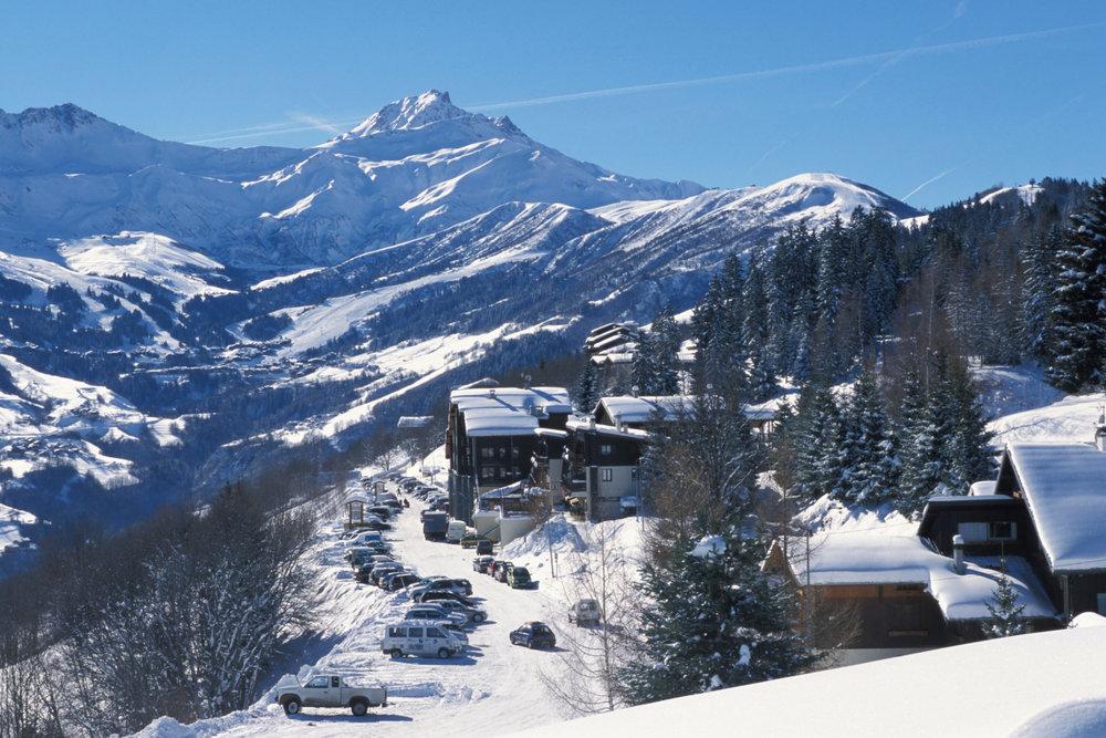 Vue sur la station de ski de Doucy - © Office de tourisme de Valmorel