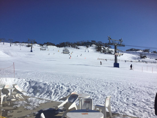 Perisher - good snow 