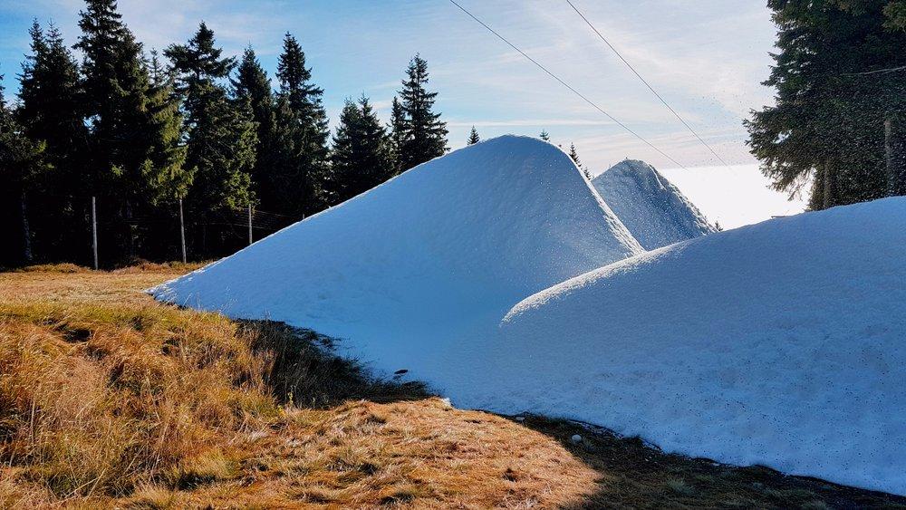 Zasněžování na Černé hoře už začalo (říjen 2017) - © SkiResort ČERNÁ HORA - PEC