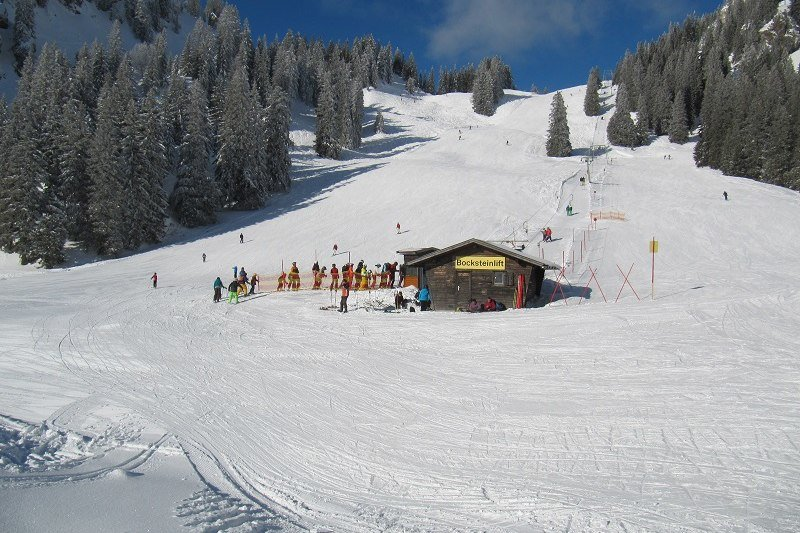 Bocksteinhang im Skigebiet Wendelstein - © Wendelsteinbahn GmbH
