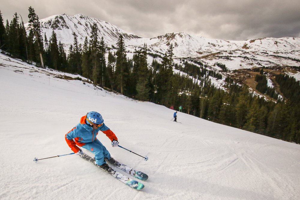 Back in action at Loveland Ski Area. - ©  Casey Day