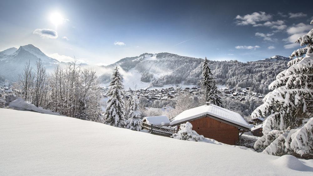 Morzine sous la neige - © JB Bieuville