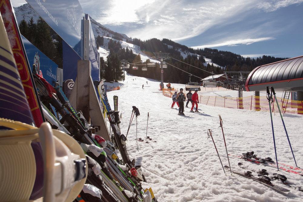 Skifahren in Oberjoch - © Panoramahotel Oberjoch