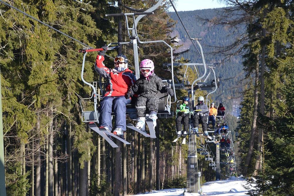 Ski areál Klobouk pod Pradědem (Olomoučák) - © SKI Karlov s.r.o.