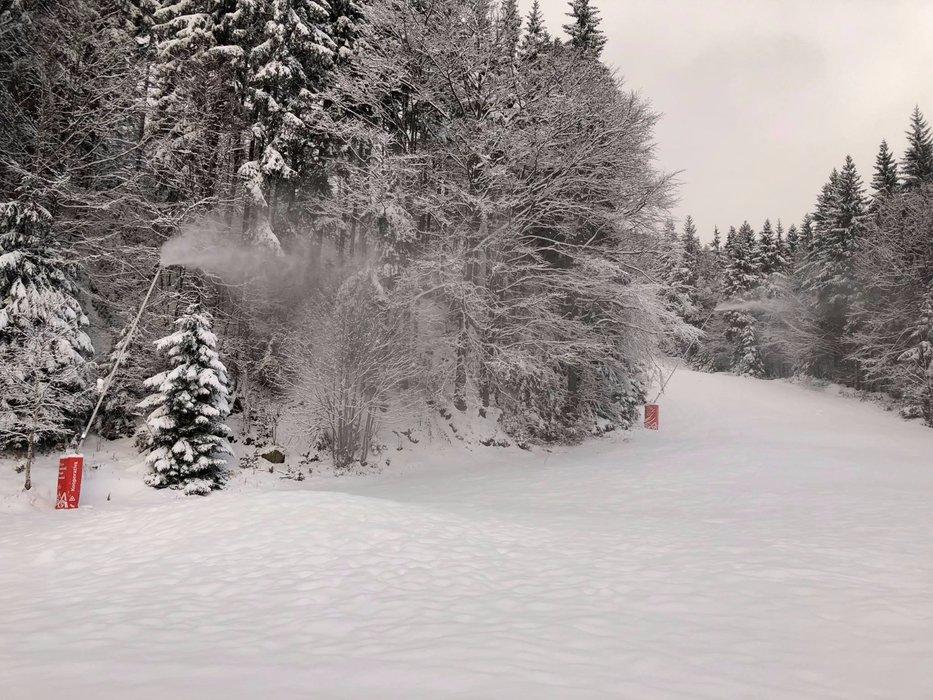 Skiareál Špindlerův Mlýn 20.11.2017 - © facebook Skiareál Špindlerův Mlýn