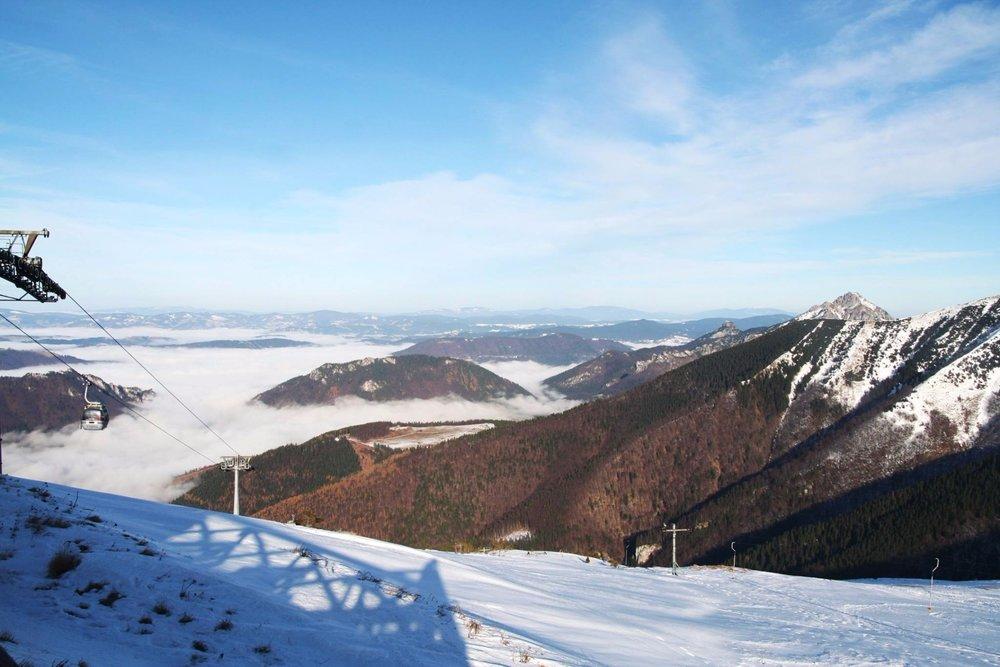 Prvá lyžovačka tejto zimy vo Vrátnej - piatok 24.11.2017 - © Vrátna dolina | Facebook