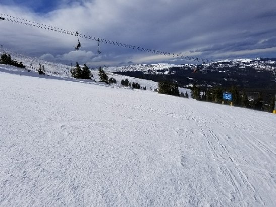 Copper Mountain Resort - Storm coming.... really need it!  Warm day, not to crowded - © anonymous