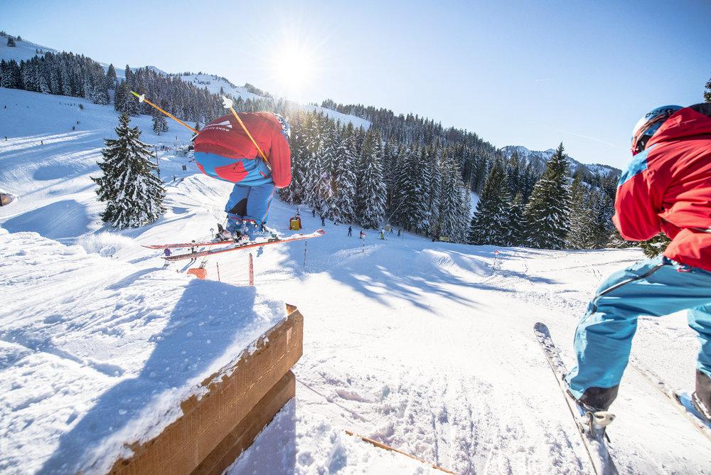 Action am Sudelfeld - © Bergbahnen Sudelfeld / Vollert