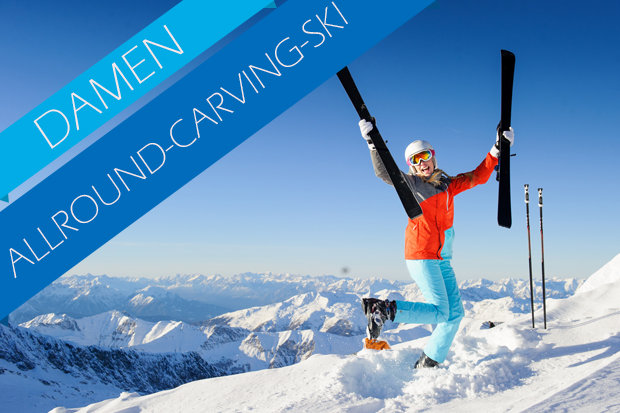Allround-Ski / Pistenski Test der Damen 2017/2018 - © Skiinfo   Dell_Fotolia