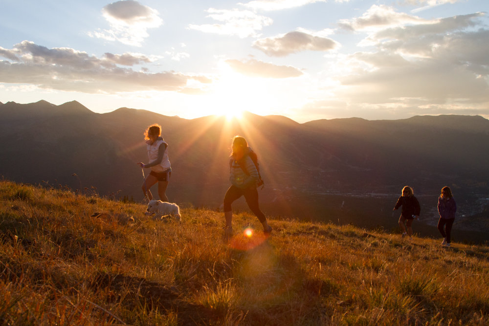 Just another Colorado sunset over the trails of Breckenridge. - © Breckenridge Tourism Office / Photographer: Liam Doran