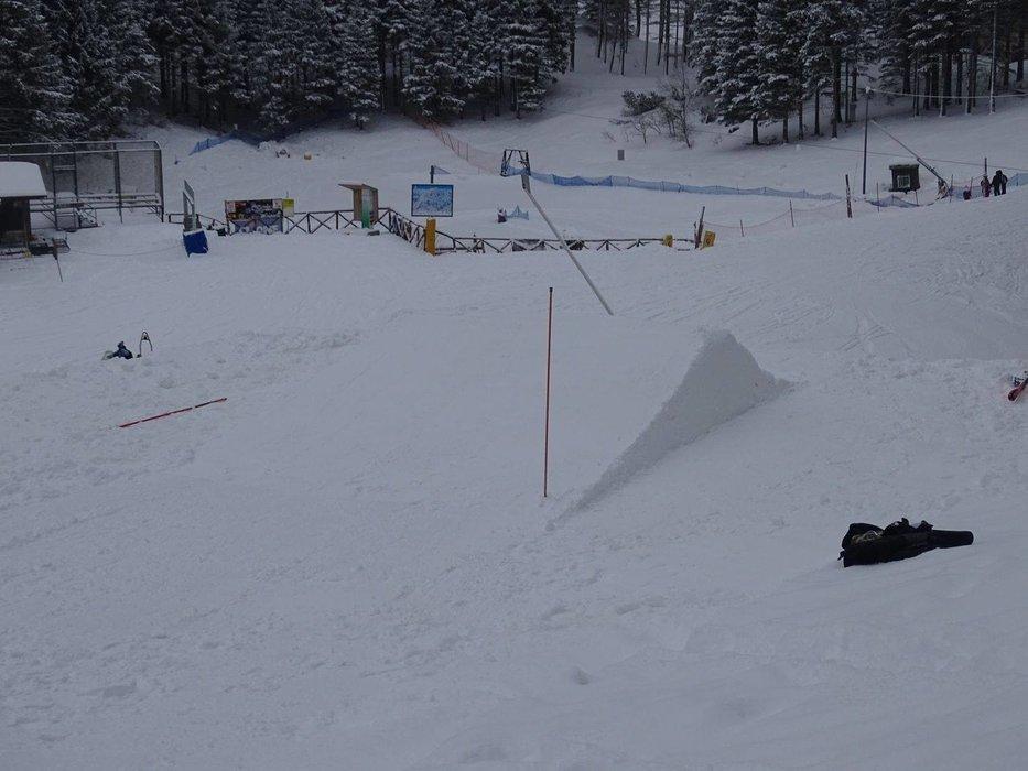 Cimone Sci, neve fresca del 1-2-3 Dicembre 2017 - © Cimone Sci Facebook