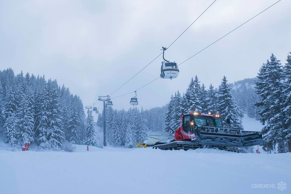 Courchevel am ersten Dezemberwochenende - © Courchevel/Facebook