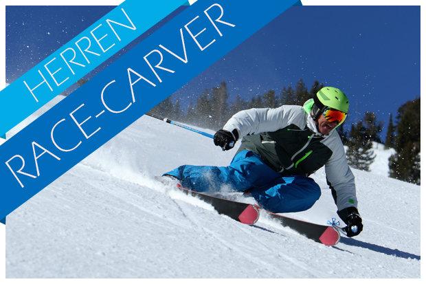 Race carving skitest