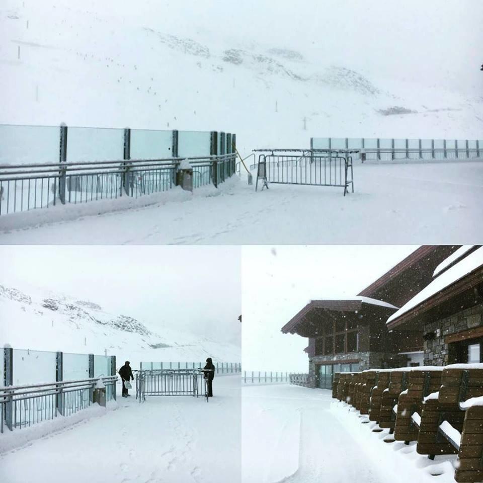 Neuschnee am Hintertuxer Gletscher - © Hintertux | Facebook