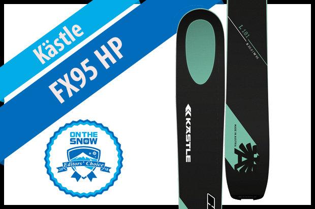 Kästle FX95 HP, men's 17/18 All-Mountain Back Editors' Choice ski. - © Kästle