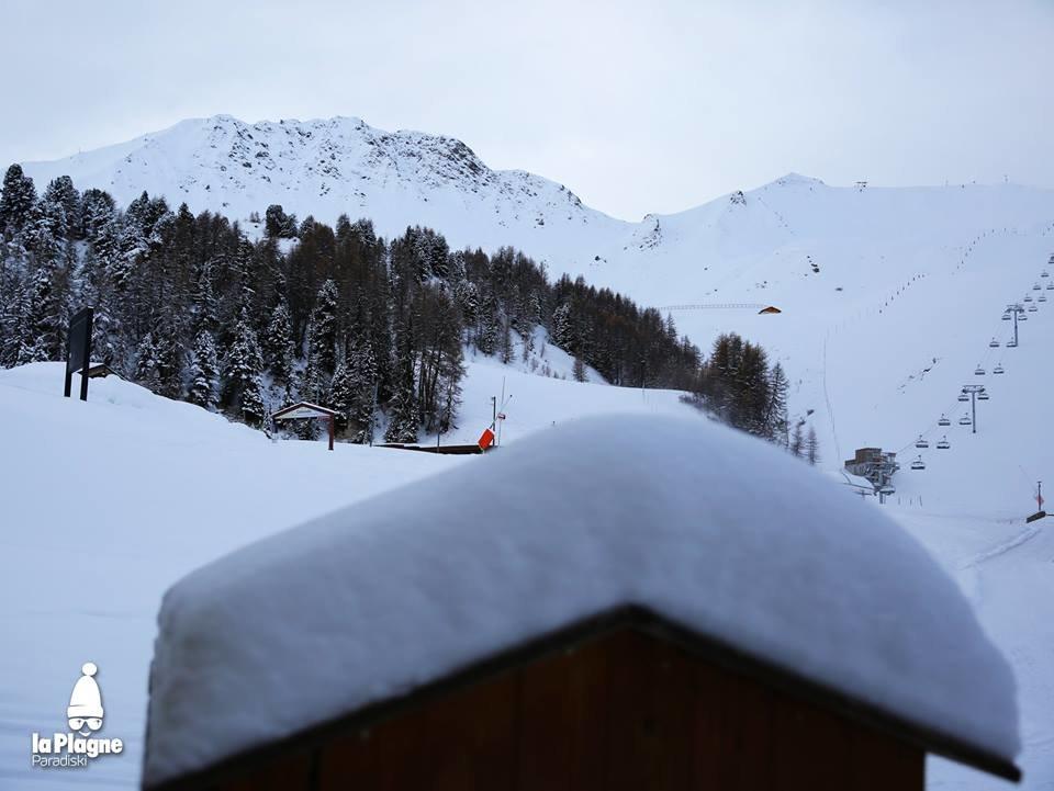 La Plagne 1/12/17 - © La Plagne/Facebook