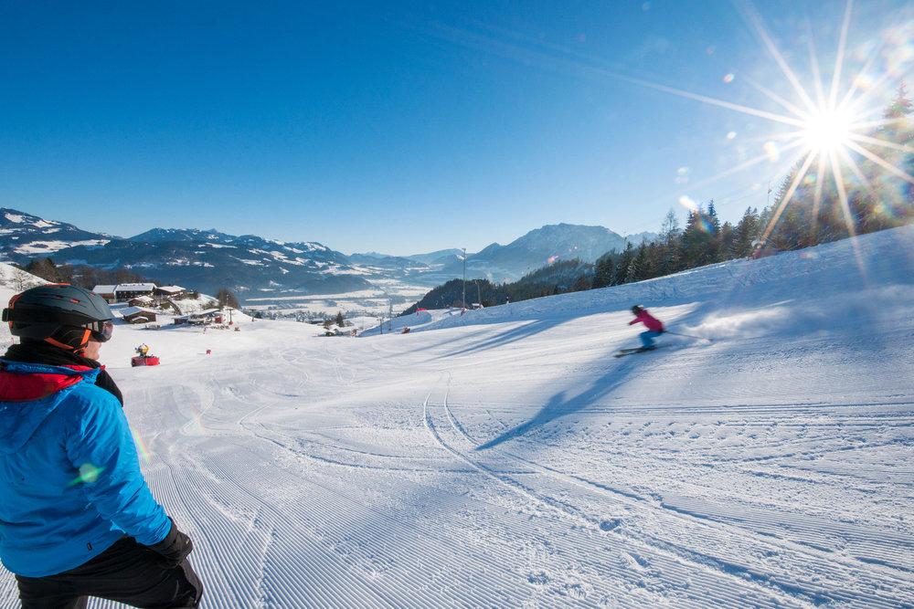Skigebiet Oberaudorf Hocheck - © Bergbahen Hocheck / Michael Namberger