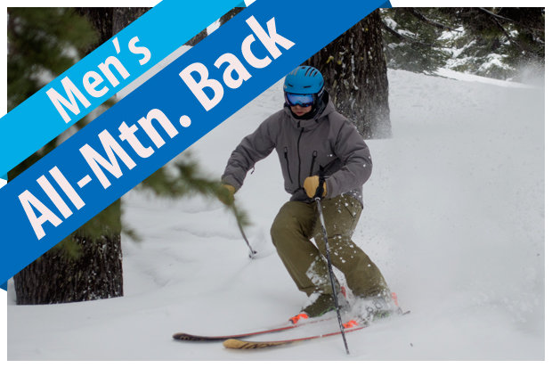 Men's All-Mountain Back ski reviews for 2017/2018.