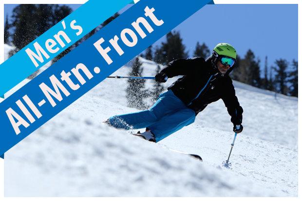 Men's All-Mountain Front ski reviews for 2017/2018. - © Jim Kinney, courtesy of Masterfit Media