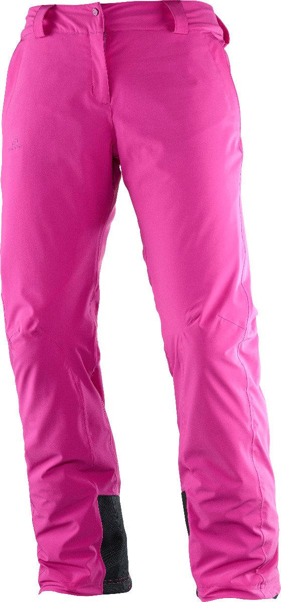 Le pantalon Salomon ICEMANIA possède l'un des meilleurs fits du marché grâce à l'utilisation d'une matière résistante en nylon offrant un stretch 4 directions. Les coutures thermosoudées empêchent la neige de s'infiltrer, tandis que l'isolation AdvancedSkin Warm 60g associe chaleur et douceur. – 200,00€ - © Salomon