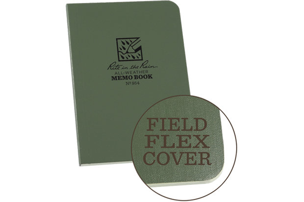 "Rite in the Rain Memo Book: $5.45 Feeling inspired? When the trail brings out your inner Hemingway, reach for this flexible, water resistant notepad. The ""Field Flex"" cover allows for easy storage in a jacket pocket."