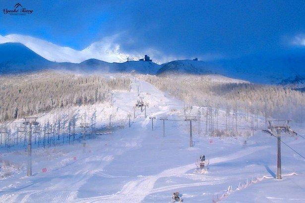 1. decembrové ráno v Tatranskej Lomnici - © Webkamery