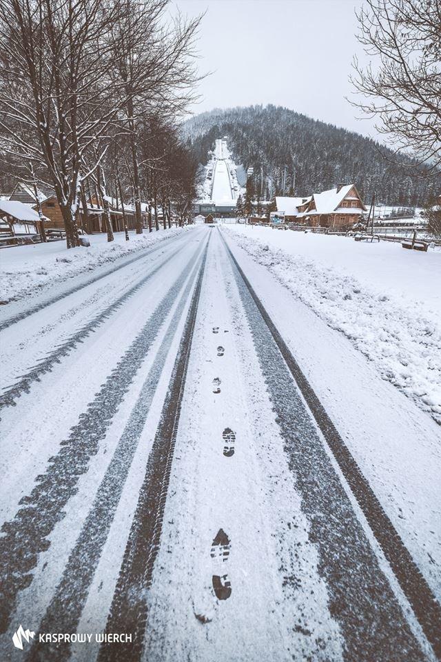 Świeży śnieg w Zakopanem, 30.10.2017 - © FB PKL Kasprowy Wierch