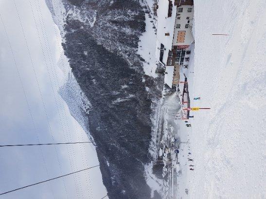 St. Anton am Arlberg - Toller Schnee, leider oben wenig Sicht. - © Anonym