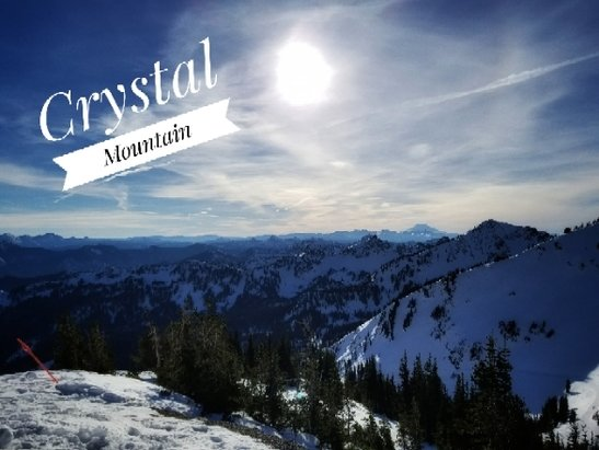 Crystal Mountain - It's like spring skiing. Watch your edges.  - © anonymous