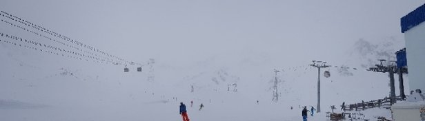 Stubaier Gletscher - Strong winds with a possible 3S opening time at 10am. - © PedroWS