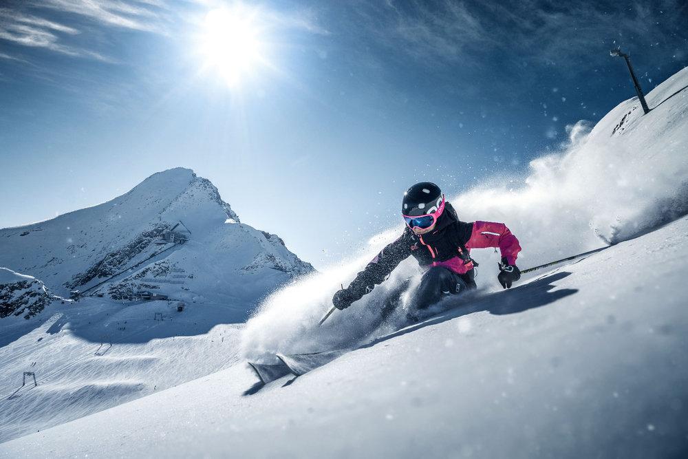 Freeriden am Kitzsteinhorn - © Gletscherbahnen Kaprun AG