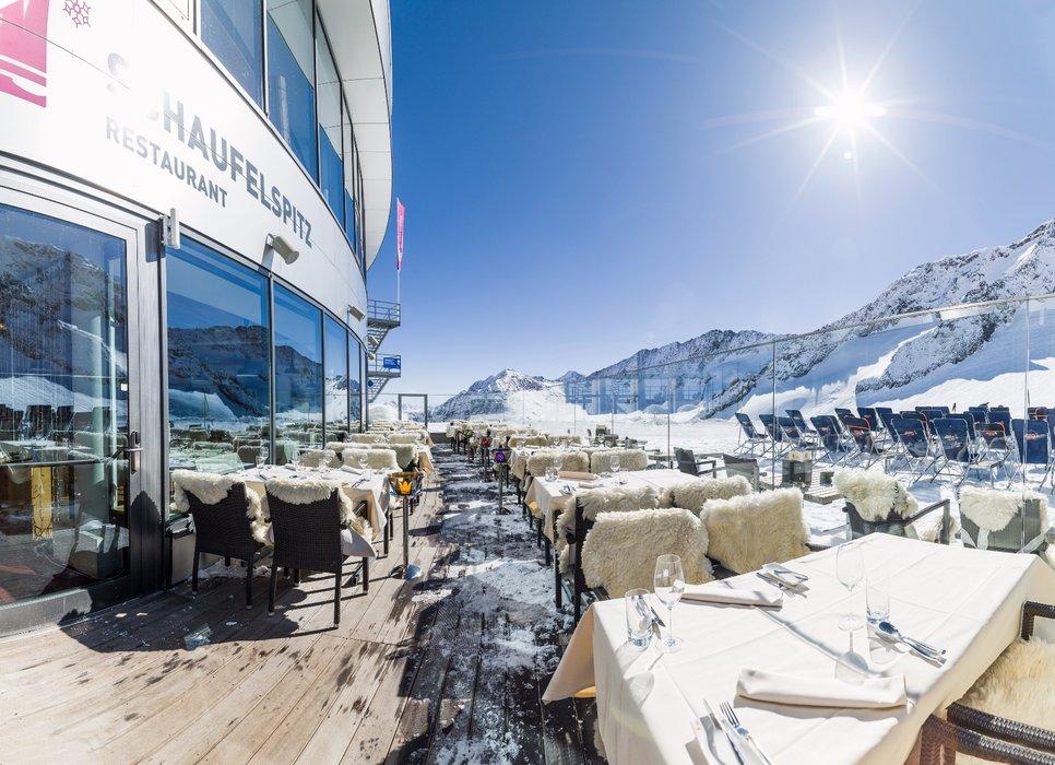Nejvýše položená restaurace na světě: Schauefelspitz - © Andre Schönherr