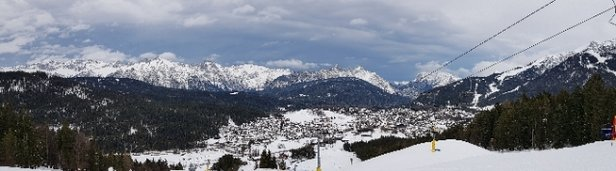 Seefeld - Gschwandtkopf - a lot of fun until 2pm when the 5 - © PedroWS