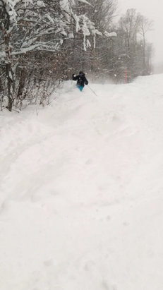 Okemo Mountain Resort - Serious pow day Tuesday. Dumped a foot 