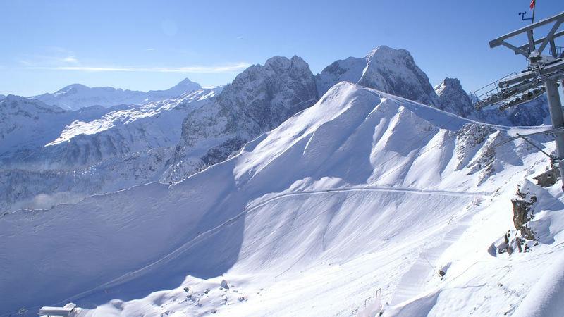 Die Vidamanette mit ihren anspruchsvollen Pisten bietet echten alpinen Kick - © Bergbahnen Gstaad