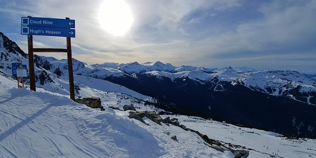 Whistler Blackcomb - Just another icy day. Things only get worse with each day. However, some new snow is coming in the next few days. - © lone wolf