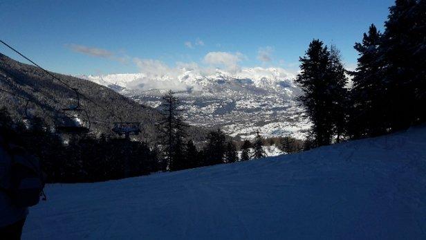 Les Orres - Ouverture partielle du domaine. Risques d'avalanches en hors piste. En cours de rodage pour les  - © Stephane R