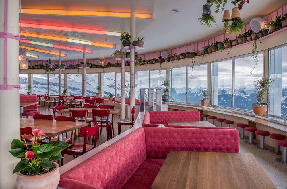 Das neue 360-Grad-Restaurant in der GALAAXY in Laax - © Weisse Arena Gruppe