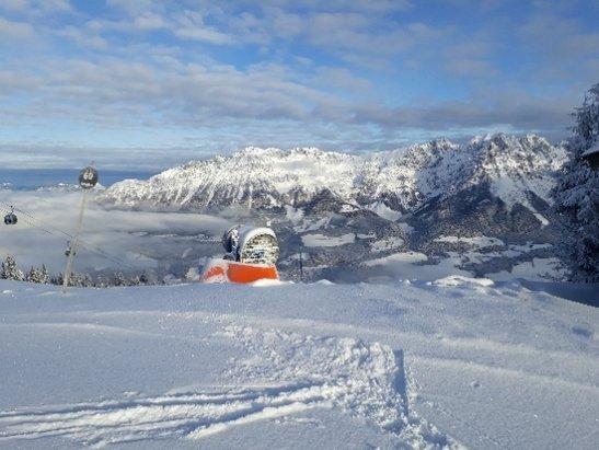 Ellmau - SkiWelt - Tolle Verh - © Anonym