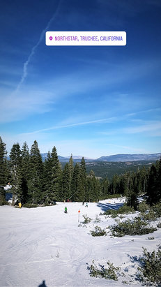 Northstar California - As good as they can make it. With the limited runs open, the coverage and grooming is excellent. 