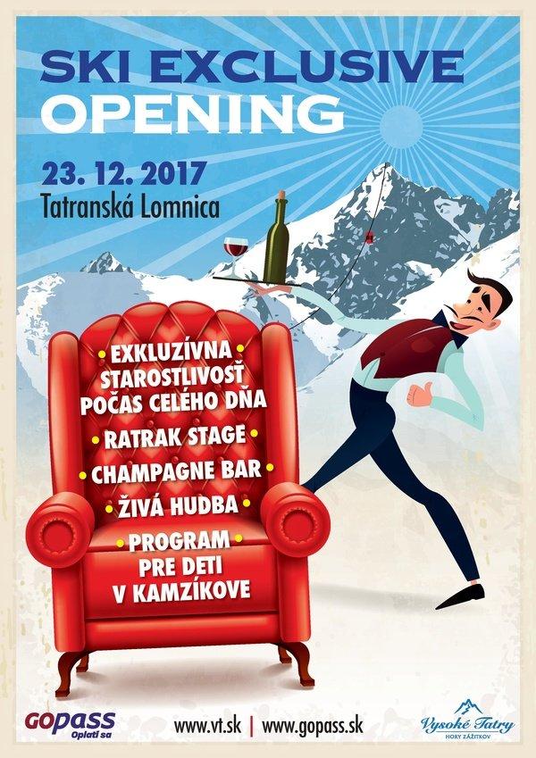 Ski Exclusive Opening v Tatranskej Lomnici - © archív TMR