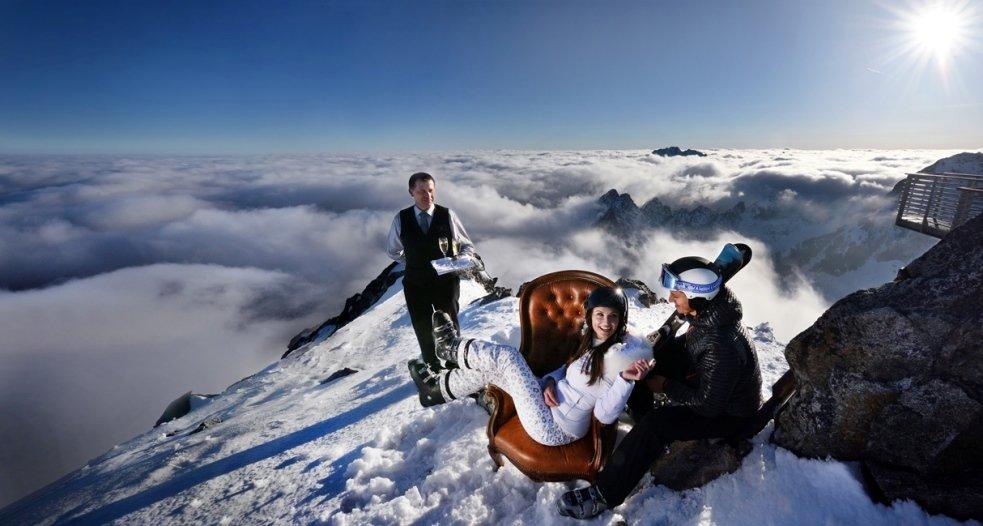 O lyžiarov bude  exkluzívne postarané - © Marek Hajkovský | www.vt.sk