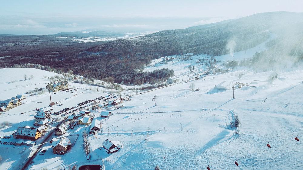 Zieleniec Ski Arena - grudzień 2017 - © Zieleniec Ski Arena