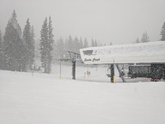 Brighton Resort - best day of the season so far - © Paris