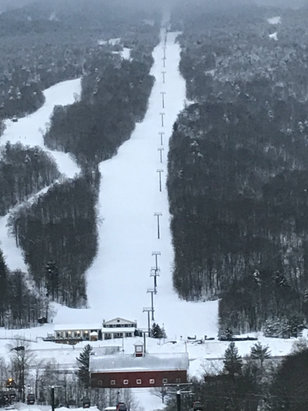 Stowe Mountain Resort - There is supposed to be a blizzard on Christmas Day. Conditions should be great  - © Harrison