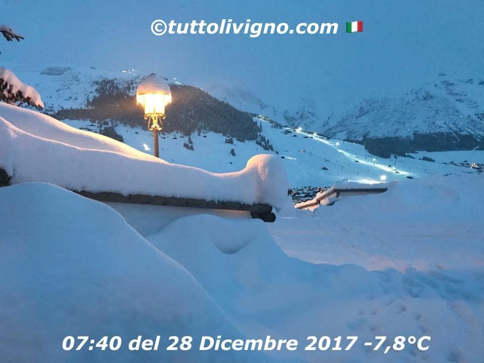 Livigno 28.12. - © Tutto Livigno | facebook