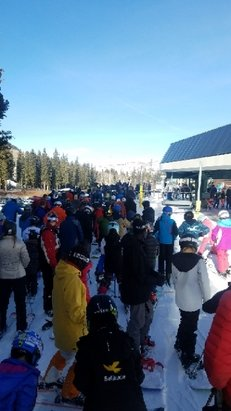 Brighton Resort - everybody showed up....