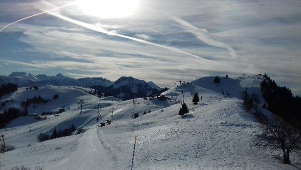 Les Brasses - station et neige au top - © lolet