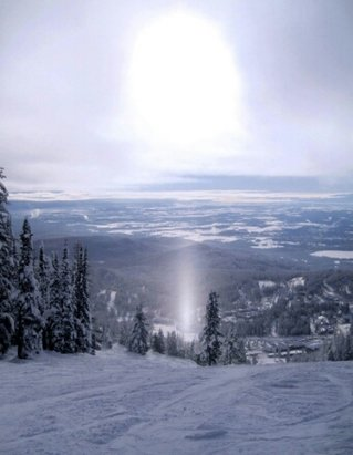 Whitefish Mountain Resort - Cold temps, some crowds, but they'll be gone soon. - © local skier