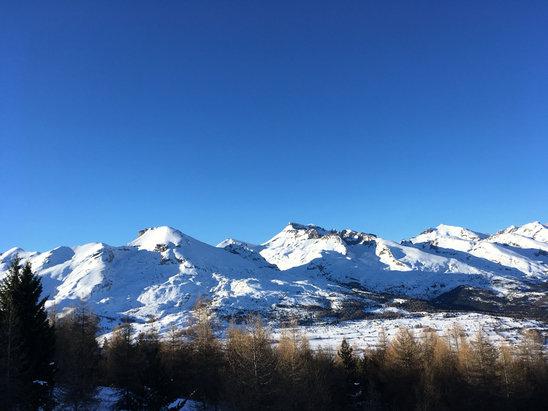 Superdevoluy / La Joue du Loup - La joue du Loup, vraiment top, 150 cm de neige, tr - © iPhone
